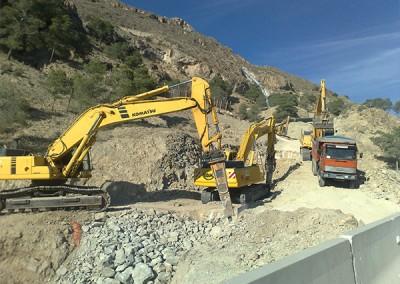 Excavaciones Santomera S.L.U colectores y conduciones 3