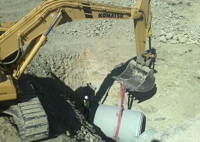 Excavaciones Santomera S.L.U colectores y conduciones 4