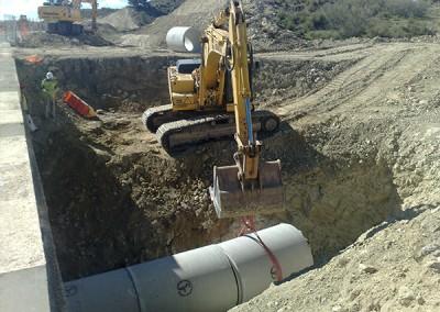 Excavaciones Santomera S.L.U colectores y conduciones 5
