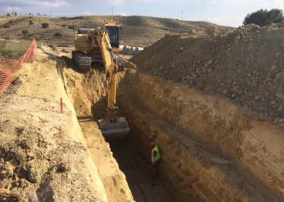 Excavaciones Santomera S.L.U colectores y conduciones 6