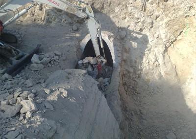 Excavaciones Santomera S.L.U colectores y conduciones 7