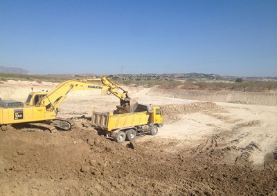 Excavaciones Santomera S.L.U embalses 2