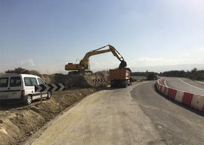 Excavaciones Santomera S.L.U carretera 1