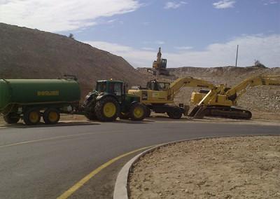 Excavaciones Santomera S.L.U carretera 2
