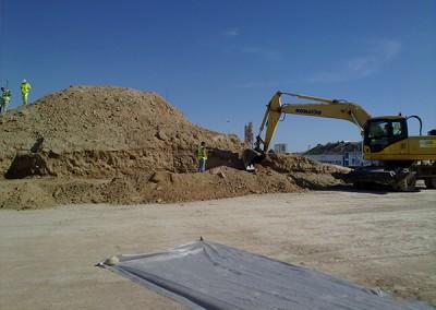 Excavaciones Santomera S.L.U carretera 3