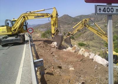 Excavaciones Santomera S.L.U carretera 4