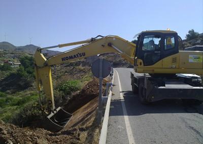 Excavaciones Santomera S.L.U carretera 5