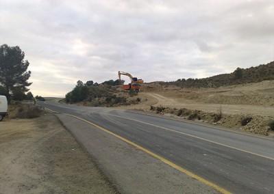Excavaciones Santomera S.L.U carretera 6